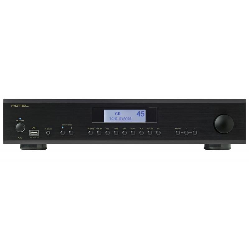 Rotel A-12 Integrated Amplifier (Black)