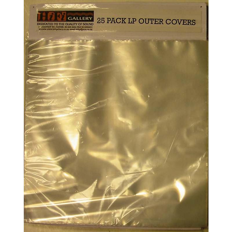 25 Pack Outer Sleeves
