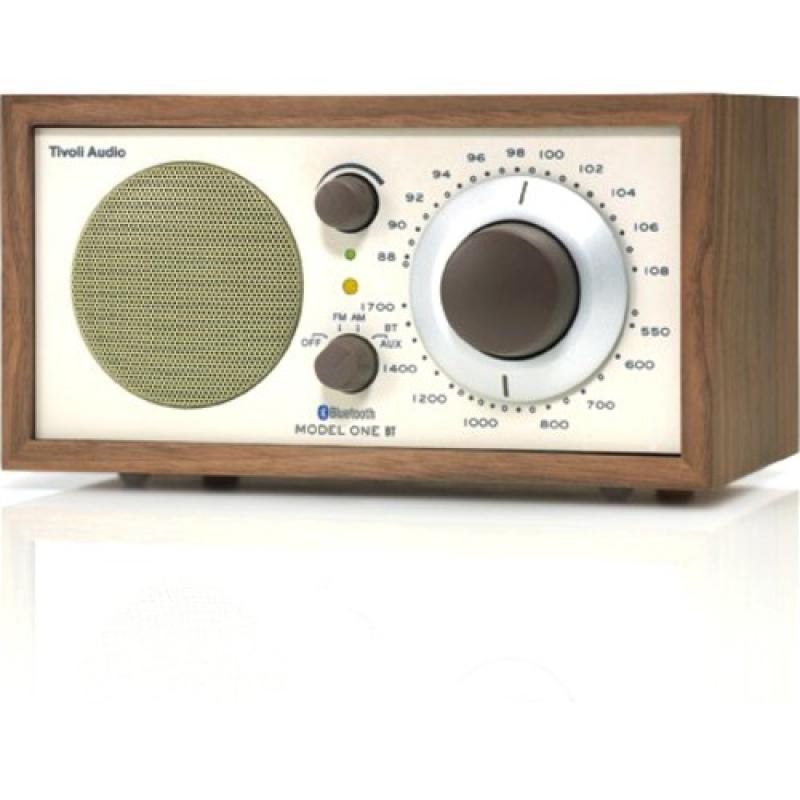 Tivoli Audio Model One AM/FM / Bluetooth Table Radio:(Walnut/Beige)