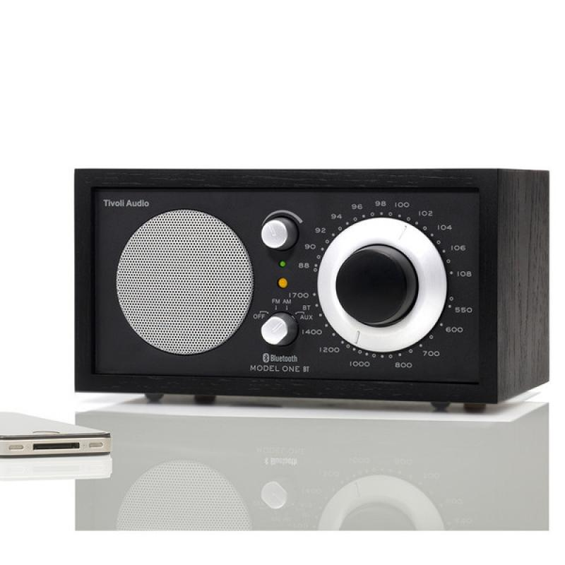 Tivoli Audio Model One AM/FM / Bluetooth Table Radio:(Black)