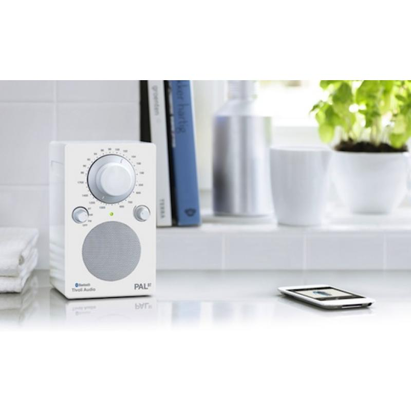 Tivoli Audio iPAL Portable AM/FM Bluetooth Radio (White)