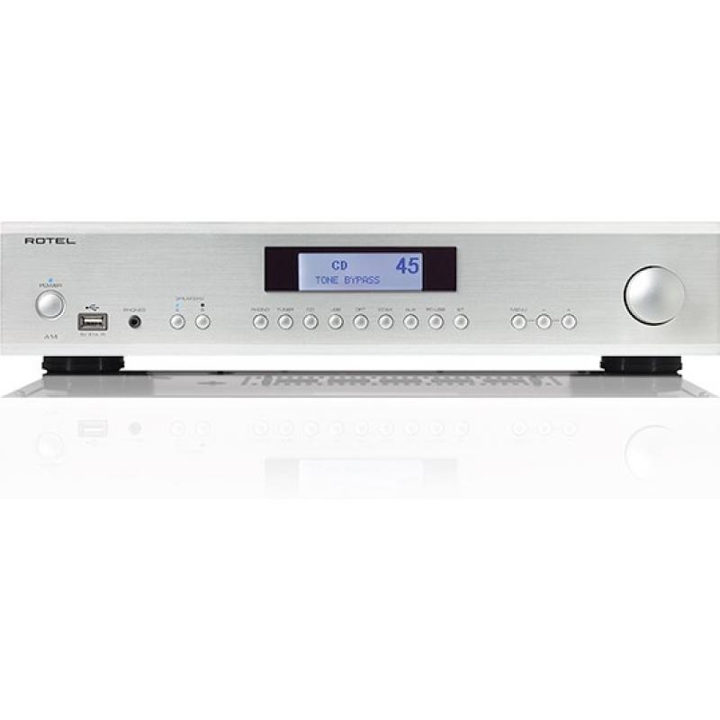Rotel A-14 Integrated Amplifier (Silver)