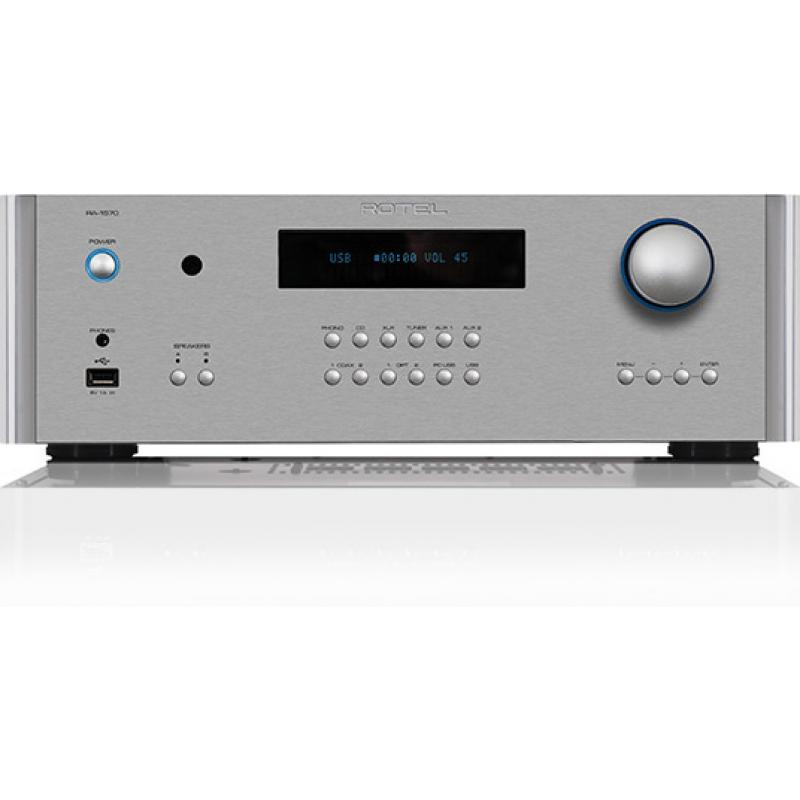 Rotel RA-1570 Integrated Amplifier (Silver)