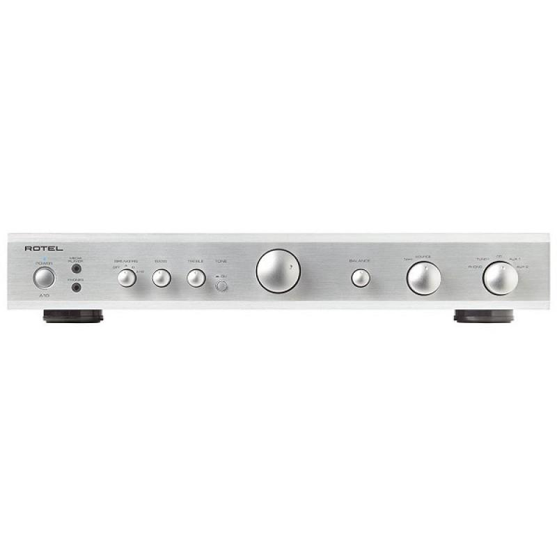 Rotel A-10 Integrated Amplifier (Silver)
