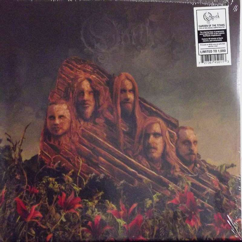Garden Of The Titans (Opeth Live At Red Rocks Amphitheatre) Coloured Vinyl