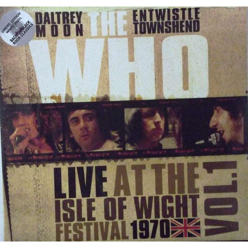 Live At The Isle Of Wight Festival 1970 (White Vinyl)