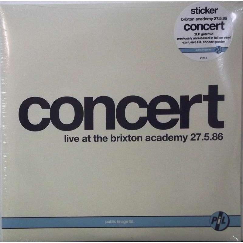Concert Live At The Brixton Academy 27.5.86