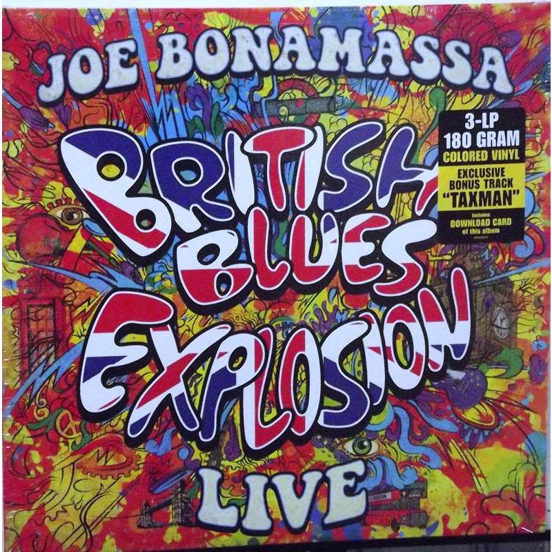 British Blues Explosion Live (Coloured Vinyl)