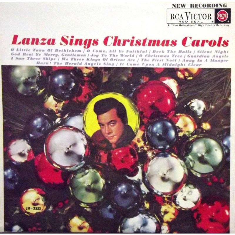 Lanza Sings Christmas Carols