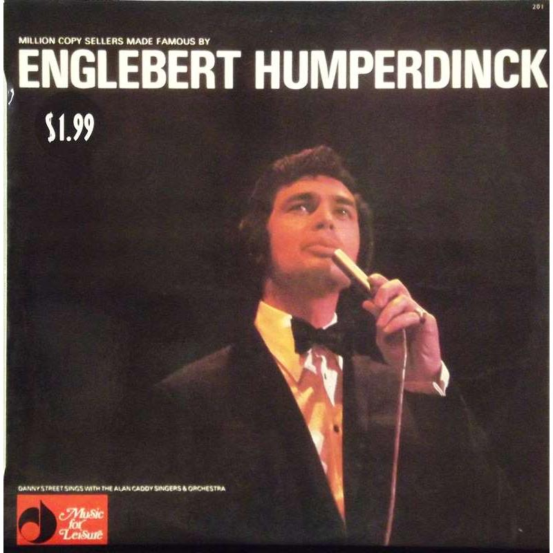 Million Copy Sellers Made Famous Engelbert Humperdinck