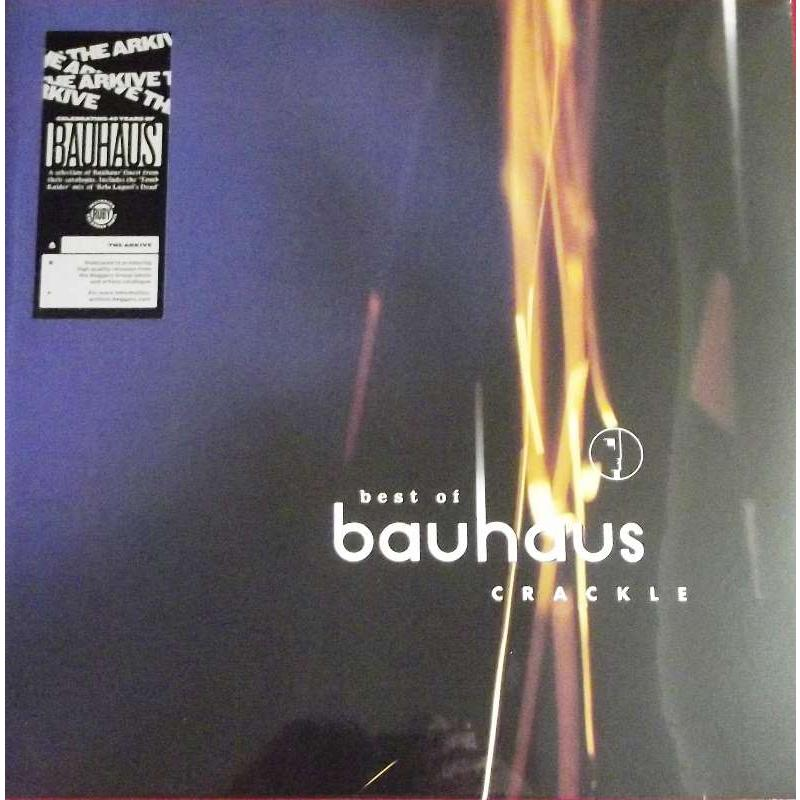 Best Of Bauhaus | Crackle  (Ruby Vinyl)
