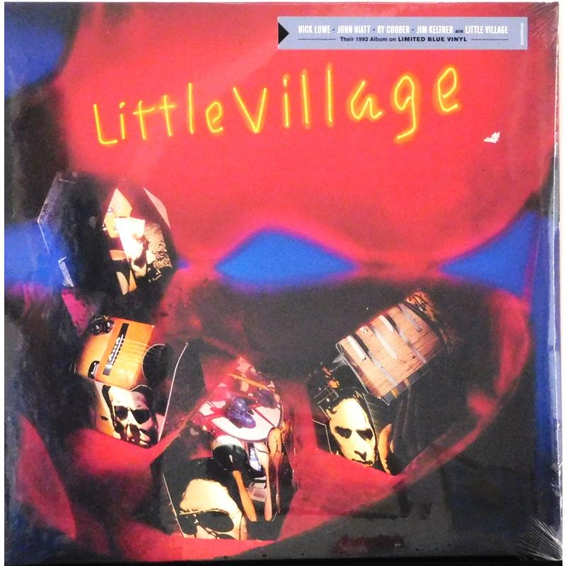 Little Village  (Blue Vinyl)