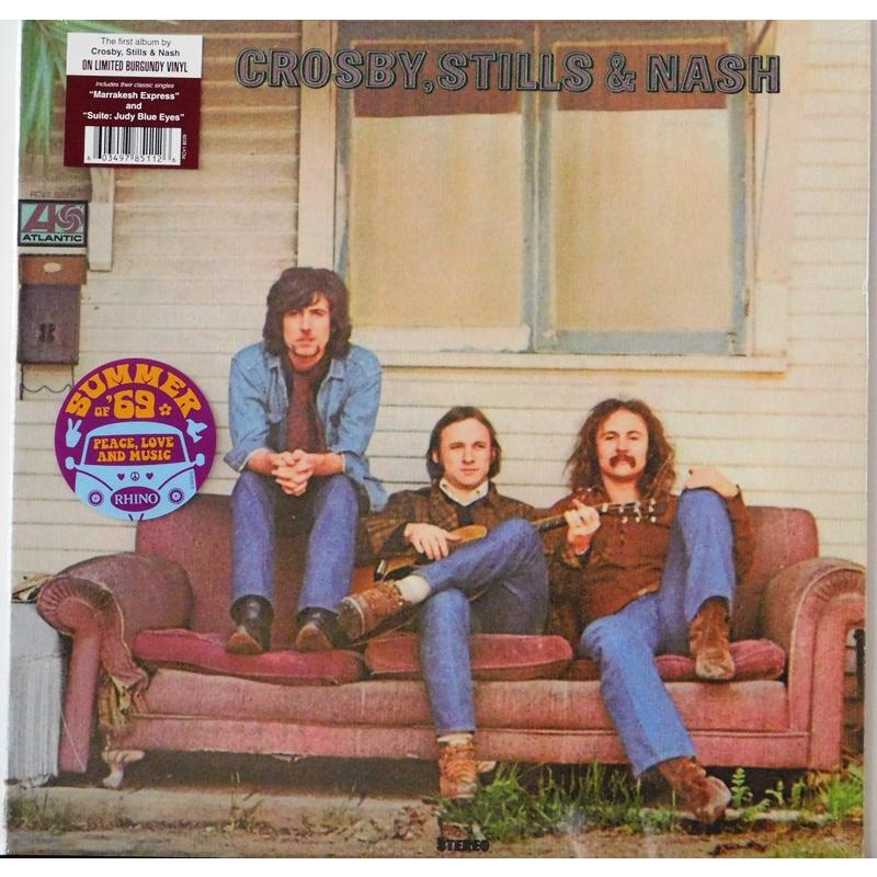 Crosby, Stills & Nash  (Burgundy Vinyl)