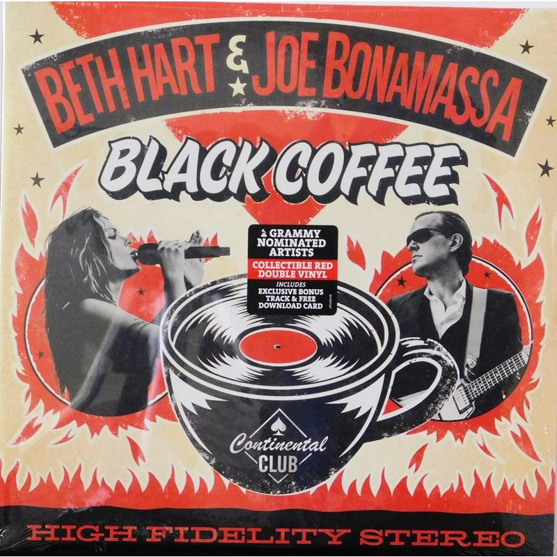 Black Coffee  (Red Vinyl)