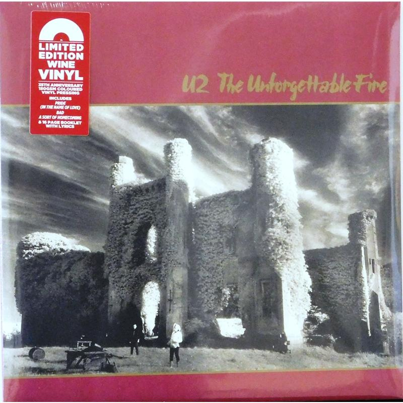 The Unforgettable Fire  (Burgundy Vinyl)