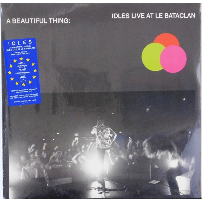 A Beautiful Thing: Idles Live At Le Bataclan (Pink  Neon Vnyl)