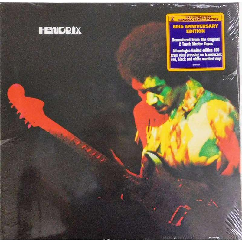 Band Of Gypsys ( Translucent Red, Black & White Marbled Vinyl)