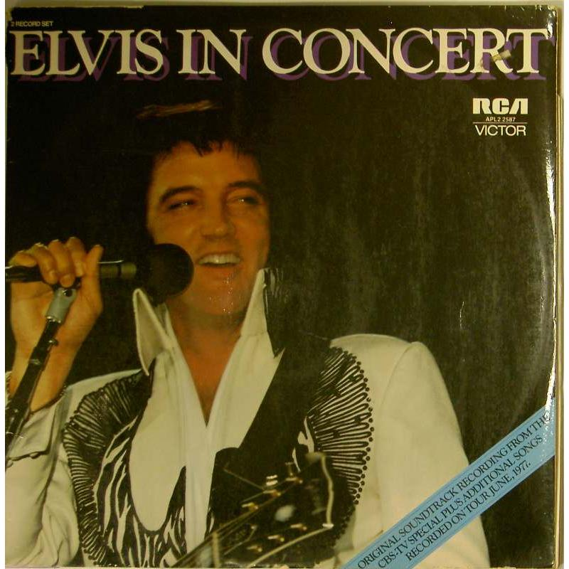 Elvis In Concert (Original Soundtrack)
