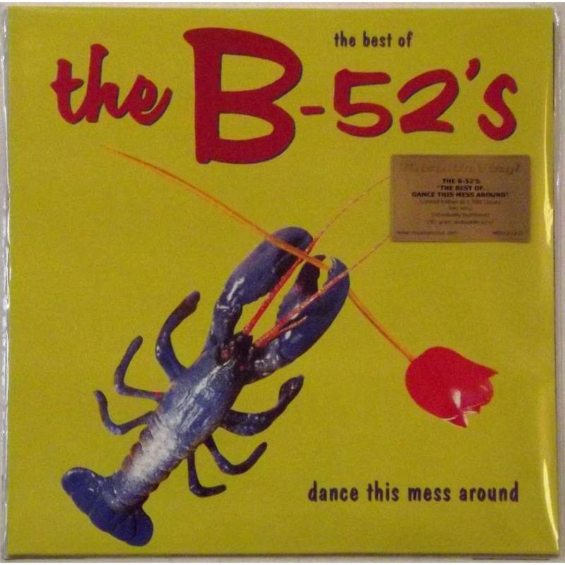 The Best Of The B-52's (Red Vinyl)