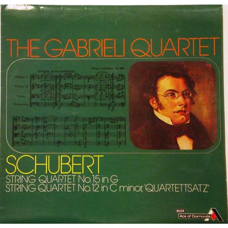 Schubert: String Quartets No. 15 & No.12