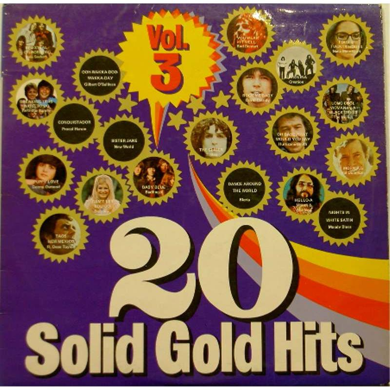 20 Solid Gold Hits: Volume 3