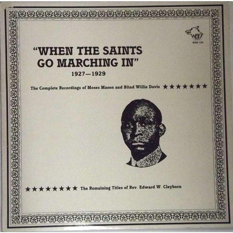 """When The Saints Go Marching In"" (1927-1929)"