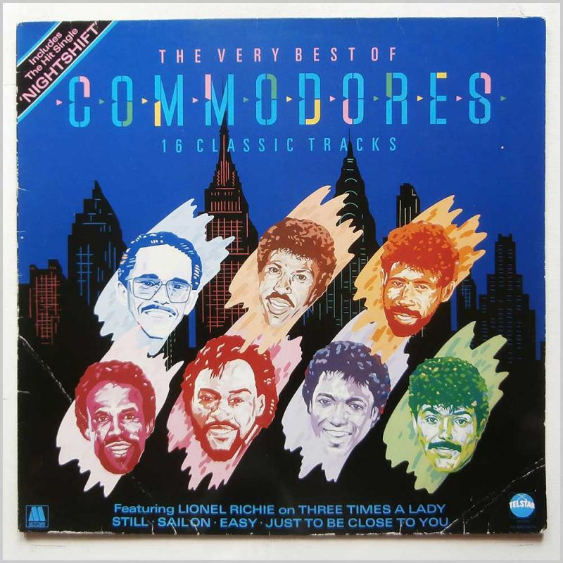 The Very Best Of Commodores