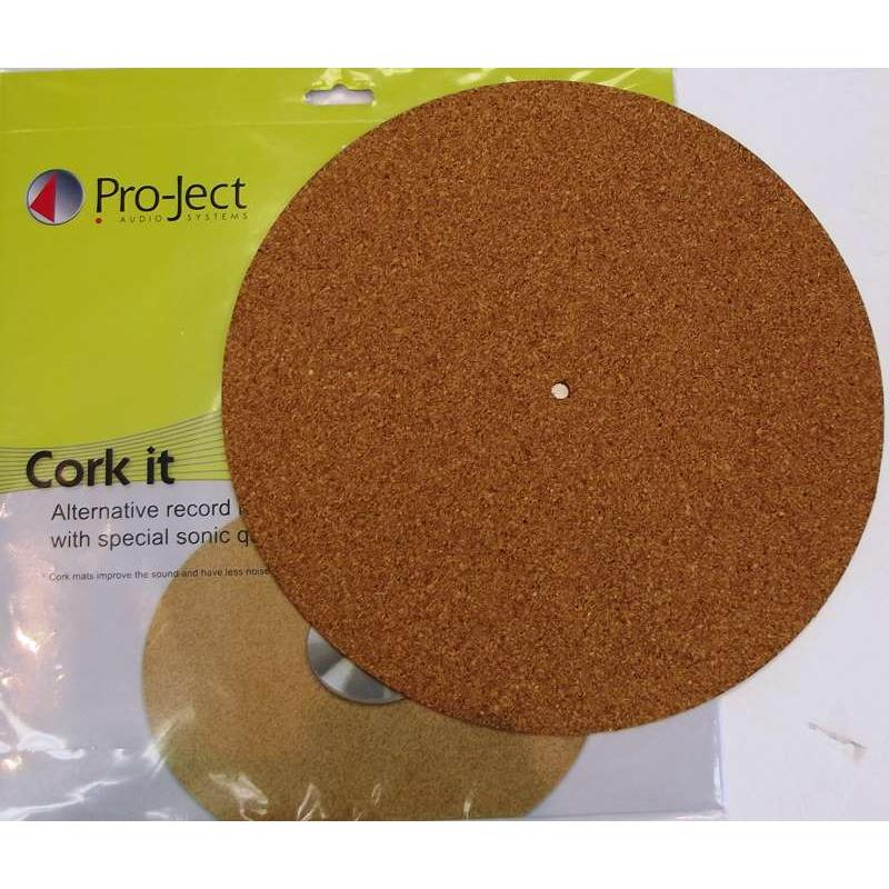 Project Cork It Turntable Mat.