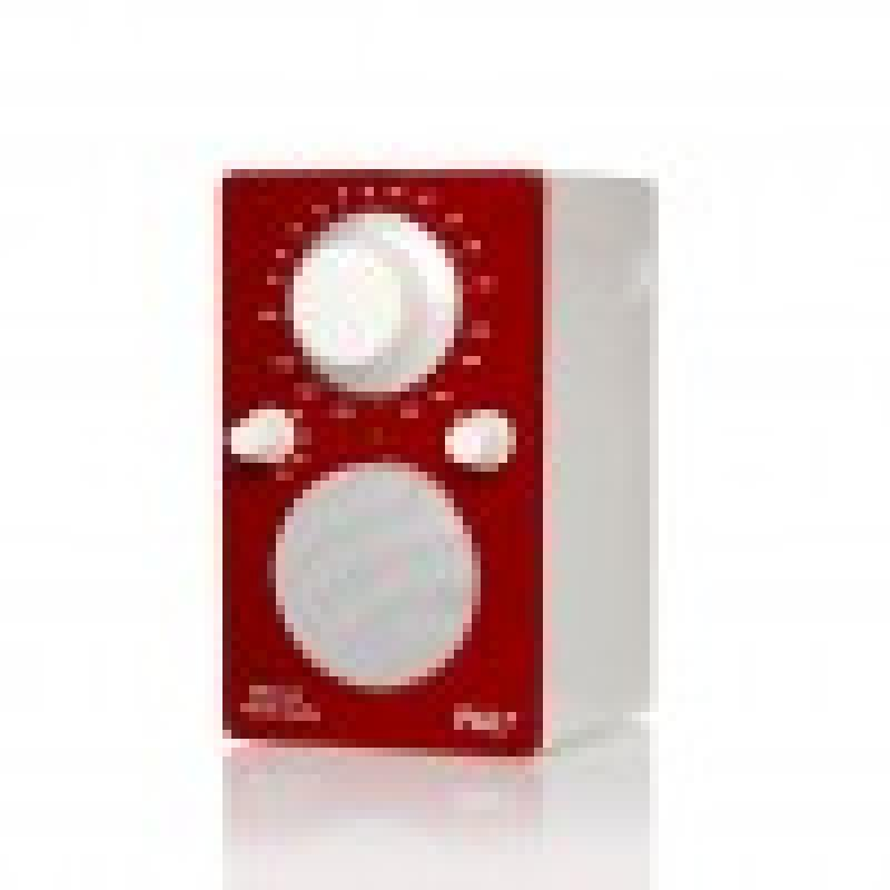 Tivoli Audio iPAL Portable AM/FM Bluetooth Radio (Red/White)